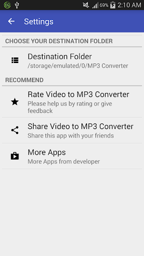 Video to MP3 Converter - MP3 Tagger 1.6.3A screenshots 8