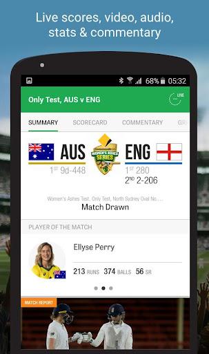 Cricket Australia Live 4.5.1 screenshots 4