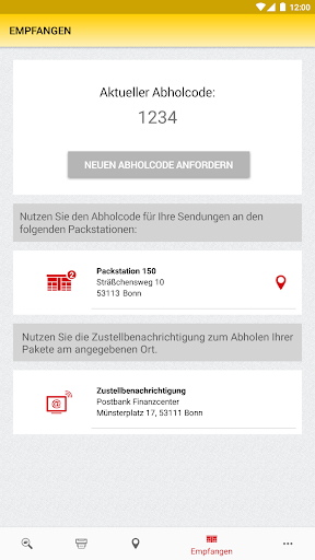DHL Paket screenshot 21