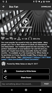 White Noise Market Screenshot