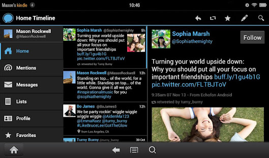 Echofon for Twitter APK for Blackberry | Download Android APK GAMES
