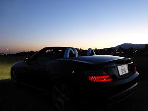 SLK R172 SLK200 Blue Efficiency AMGスポーツパッケージ 2014年式のカスタム事例画像 もり〜さんの2018年10月22日00:03の投稿