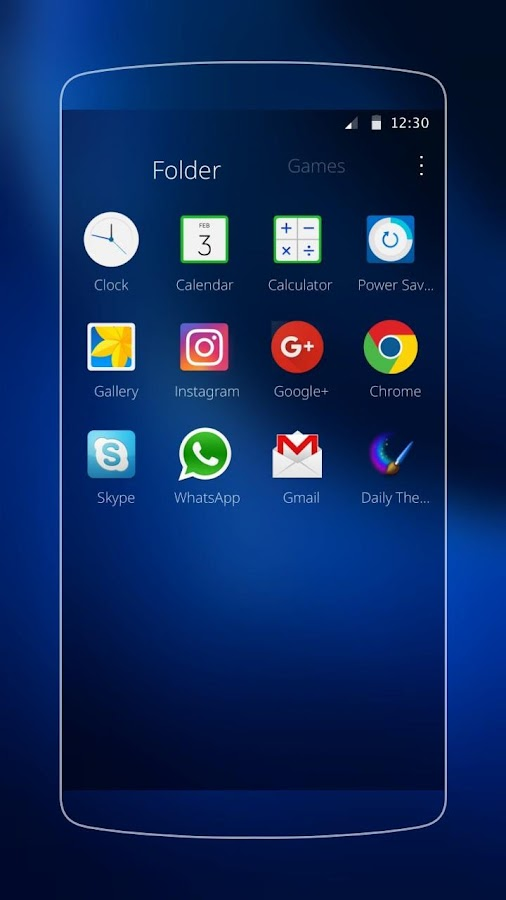 Theme for Samsung J7- screenshot