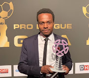 Bafana Bafana star forward was voted the best player in the second division in Belgium.