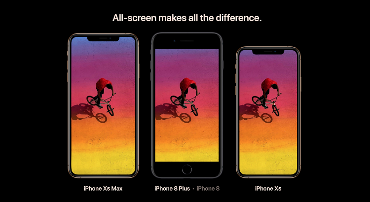 iPhone Xs Screens.