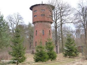 Photo: Wieża wodna leżąca jeszcze w woj. dolnośląskim za plecami mamy już województwo lubuskie
