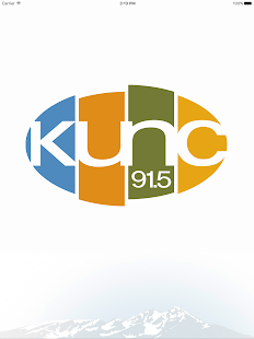 KUNC Public Radio App- screenshot thumbnail
