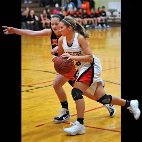 Power Drive by Tom Vogt - Sports & Fitness Basketball (  )