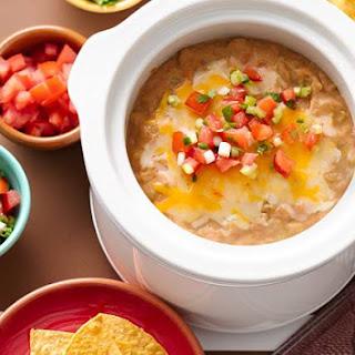 Slow-Cooker 3-Ingredient Bean Dip.