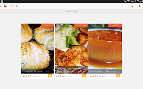 PetitChef, cooking and recipes Screenshot