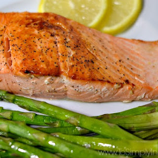 Pan Seared Salmon.