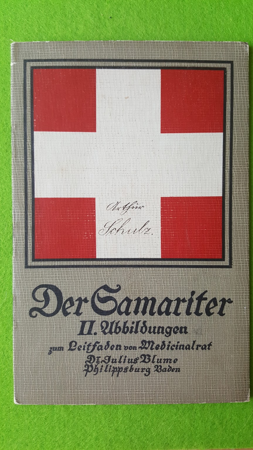 Erste Hilfe bei Unglücksfällen - Der Samariter - 1914 - Der Bildteil