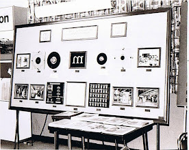 Photo: Harris Composition Systems Division display board