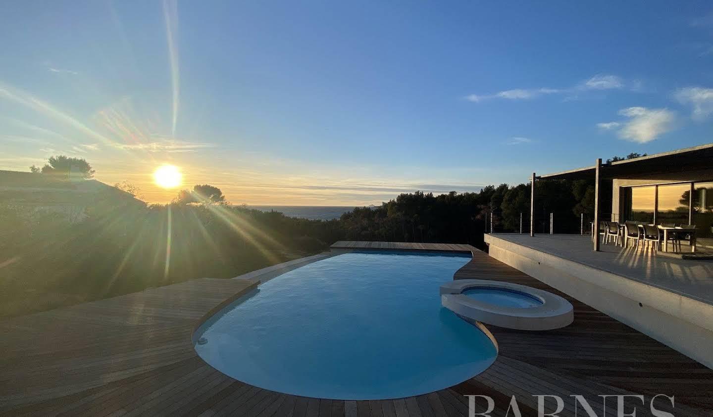 Villa avec piscine Saint-Cyr-sur-Mer