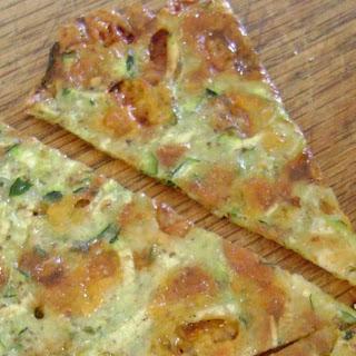 Zucchini Cheese Wedges.
