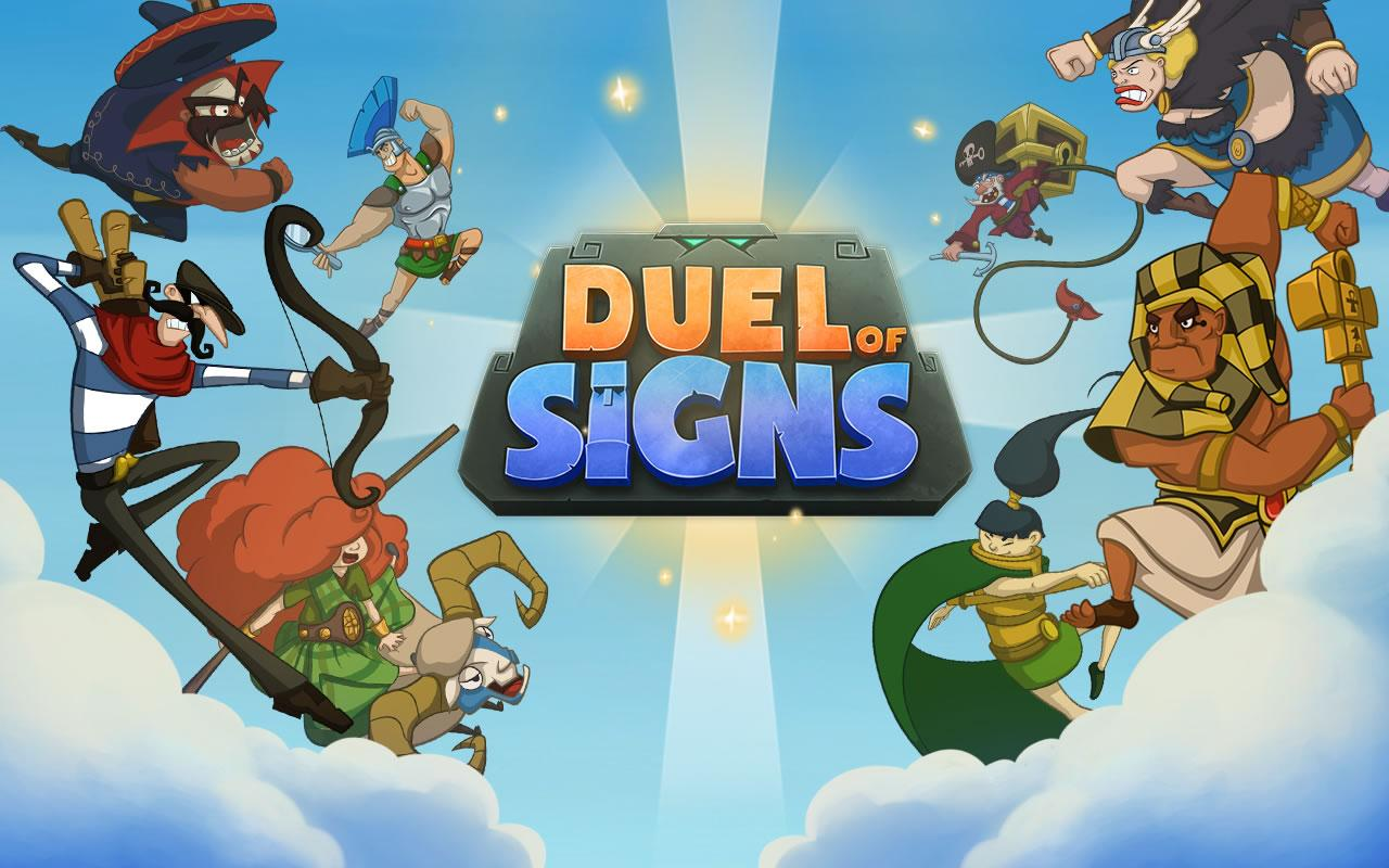 Duel of Signs- screenshot
