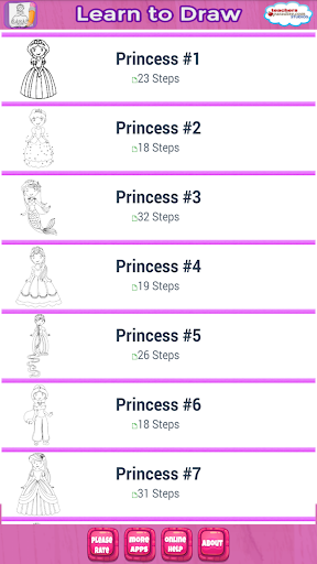 How to Draw Princess Queens