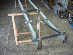 Photo: assemblage du chassis