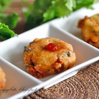 Salmon Potato Patty /Salmon Perkedel