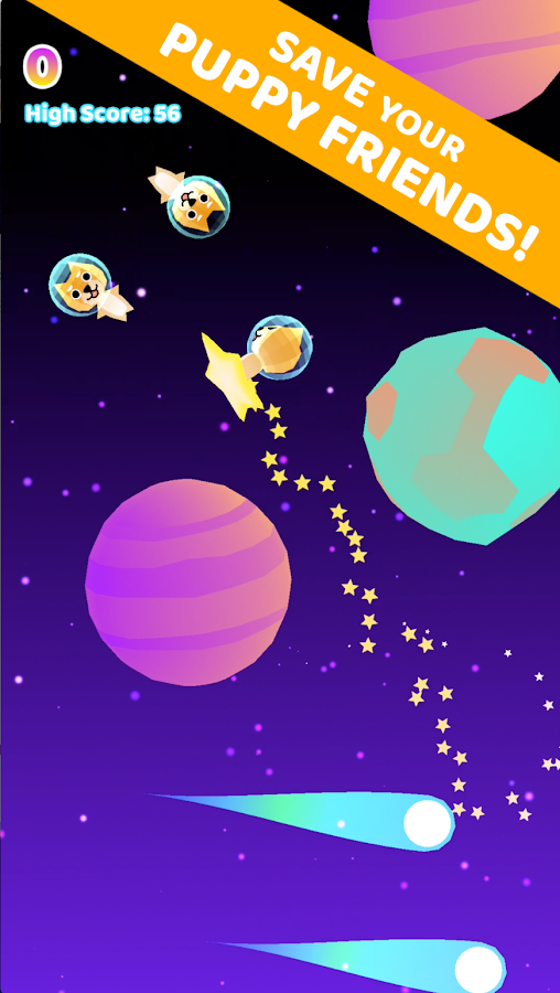 Puppy Space Rescue- screenshot