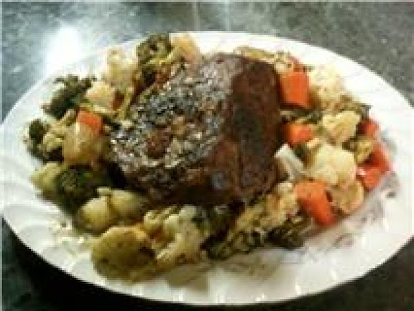 Chuck Wagon Roast With Vegetables Recipe