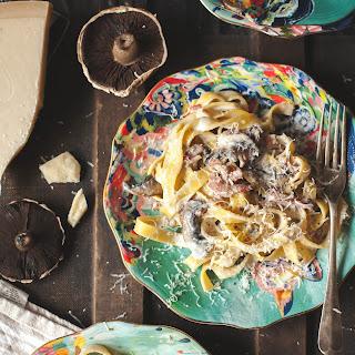Mushroom Pasta With Truffle Oil Recipes.