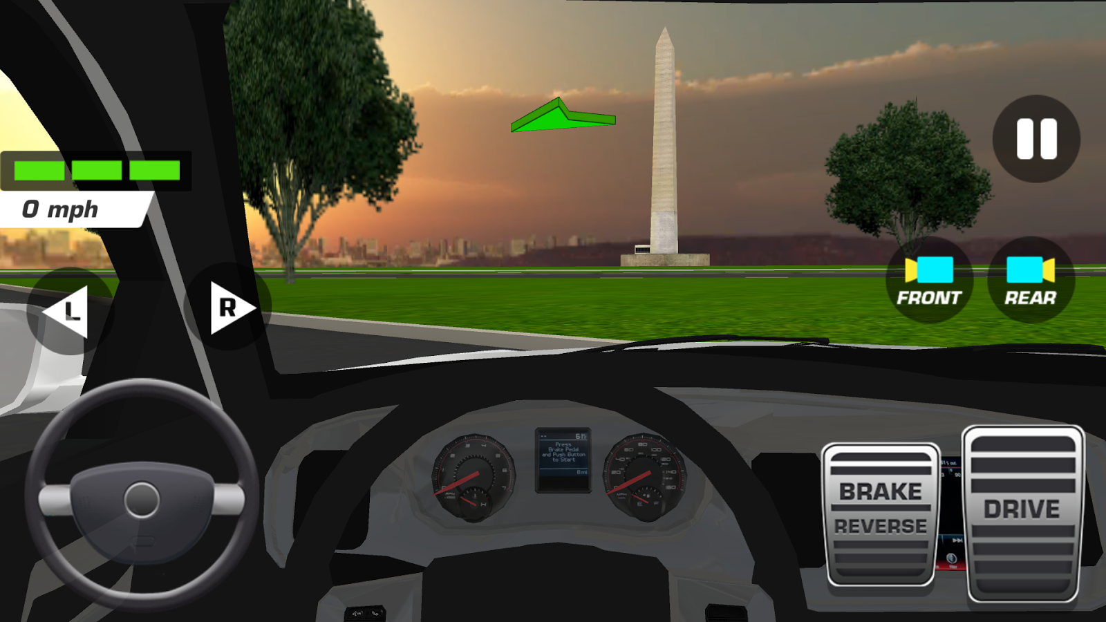 Race to White House 3D - 2020- screenshot
