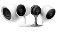 Image of different types of Nest cams