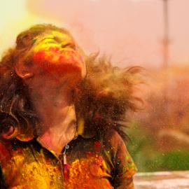 Color splash by Rajib Chatterjee - Babies & Children Children Candids