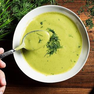 Creamy Cannellini-Broccoli Soup