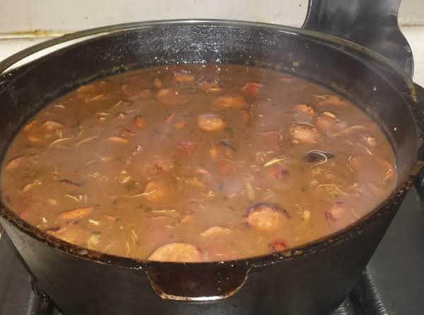 My Favorite Chicken & Sausage Gumbo Recipe