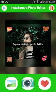 instasquare- photo editor&photo emoji - náhled