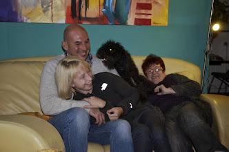Photo: mit Sohn Mario, Eva, Enikö