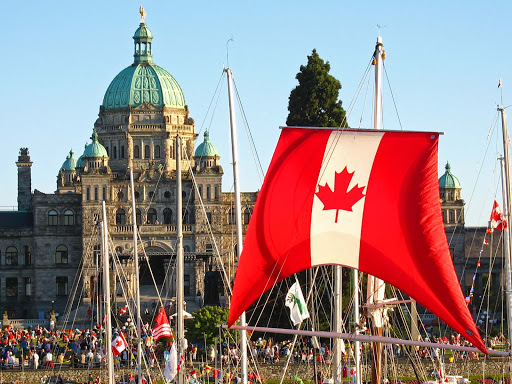 Canada-Day-in-the-Inner-Harbour.jpg - Canada Day at Victoria's Inner Harbour.