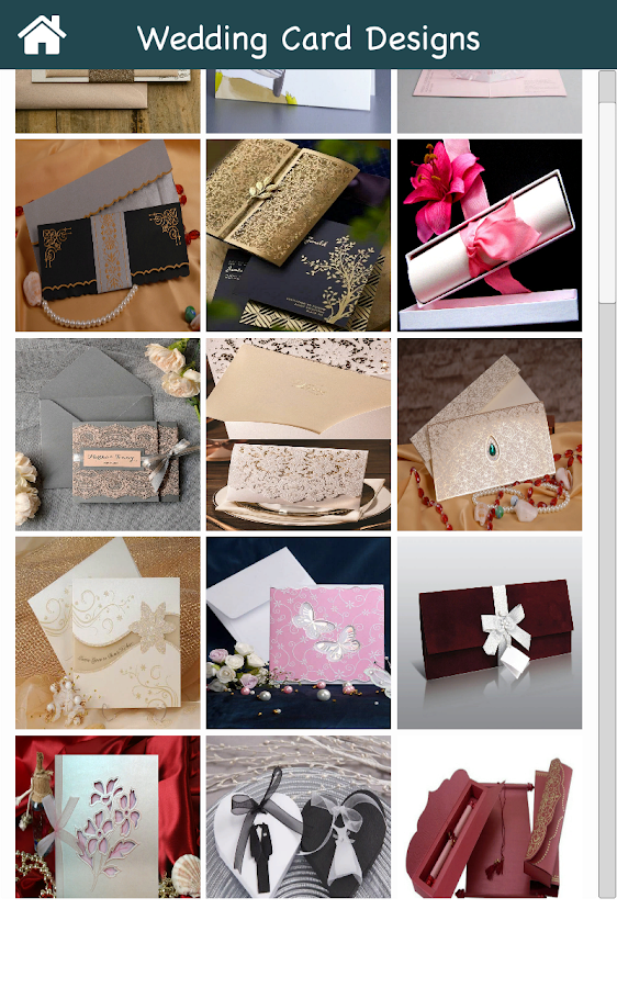 Wedding card designs android apps on google play wedding card designs screenshot stopboris Choice Image