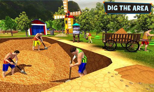 Primitive Technology: Fish Pond Building Sim 1.0 screenshots 2
