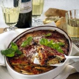 Parmigiana di Melanzane (Auberginenauflauf)