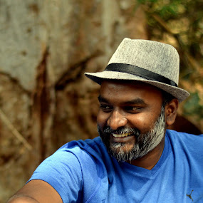 Forest Camp - Candid Clicks : Jason. by Vinod Rajan - People Street & Candids ( peoples, forest, moments, candid, street, candids, hats, hat, people, forests, moment, smile,  )