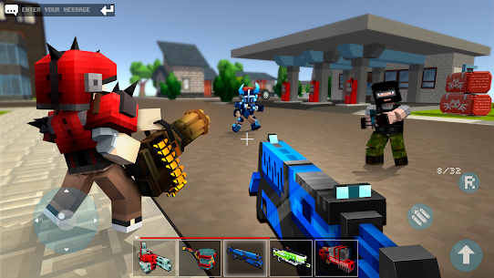 Mad GunZ – shooting games & Battle Royale, online Mod 2.1.0 Apk [Unlimited Equipments] 2
