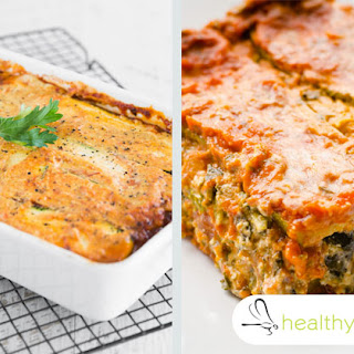 The Healthiest Lasagna Recipe You'll Ever Try