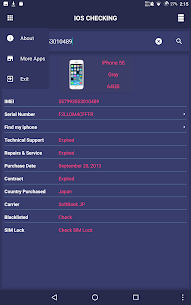 iDevice Check – IMEI Checking 4
