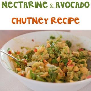 Nectarine and Avocado Chutney