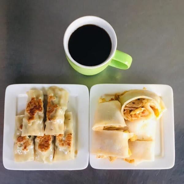 幸福廚房早午餐,審計新村附近美食,河粉蛋餅超Q超特別又很美味~