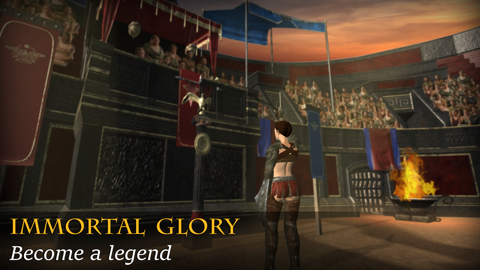 Gladiators: Immortal Glory- screenshot