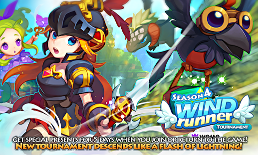 LINE WIND runner- screenshot thumbnail