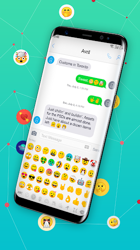 New Emoji for Android 8.1  screenshots 3