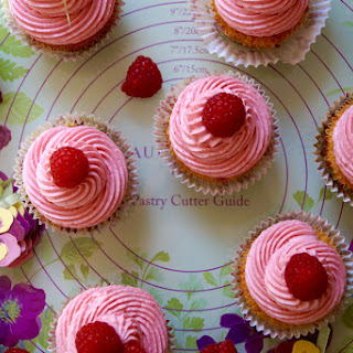 Lemon Cupcakes with Fresh Raspberry Buttercream