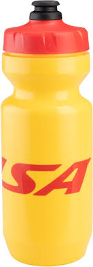 Salsa Purist Water Bottle: 22oz, Logo, Yellow alternate image 0