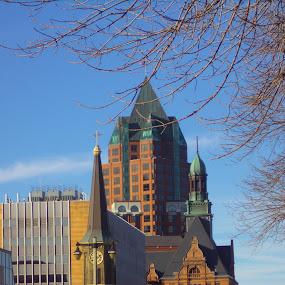 by Suzette Christianson - Buildings & Architecture Office Buildings & Hotels