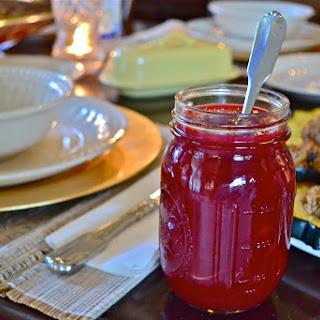 Cranberry Sauce/Jelly.